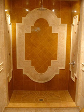 Palmira Gobi Accented With Inca Gold Polished Marble