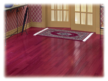 Red Oak Gunstock Stain Traditional Wood Flooring Other